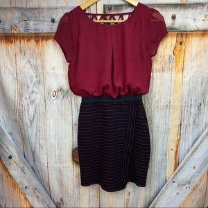 SPEECHLESS Short Sleeve Dress